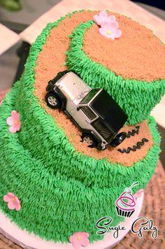 Spiral Birthday Cake In Austin Texas
