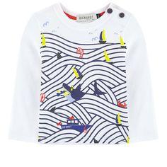 Jean Bourget - Striped T-shirt Kids Graphics, Jean Shirts, Jeans, Kids Fashion, T Shirt, Baby Boys, Sweatshirts, Children, Sweaters