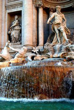 God of the Seas - Fontana di Trevi - Rome