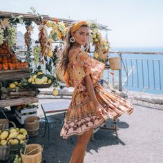 Forever one of our top go-to spots for wearable boho styles with a feminine edge, Spell Designs' new collection doesn't disappoint. Boho Summer Outfits, Spring Summer Fashion, Party Hairstyles For Long Hair, Icon Clothing, Spell Designs, Brunch Outfit, Aesthetic Fashion, Boho Ootd, Style Inspiration