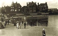 Cannoe Lake, Southsea, c1910 Local History, Family History, Old Pictures, Old Photos, Portsmouth England, Art Deco Posters, People Of Interest, Best Western, Isle Of Wight