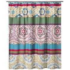 Boho Boutique™ Taj Shower Curtain - Blue