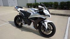 2007 Honda CBR600RR Sportbike , White, 14,200 miles for sale in miami, FL
