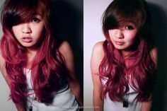 Brown and pink ombre! Can't wait to do this
