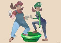 Genderbent Super Mario Fan Art Female Characters, Disney Characters, Fictional Characters, Mario Fan Art, Video Game Artist, Female Character Design, Geek Art, Super Mario Bros, Writing A Book