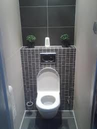 toilet cistern in wall with shelf above Small Toilet Room, Guest Toilet, Small Bathroom, Bathroom Layout, Cloakroom Toilet Downstairs Loo, Understairs Toilet, Hidden Toilet, Toilet Tiles, Toilet Cistern