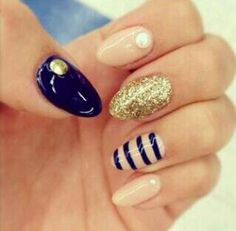 Royal Blue with Gold