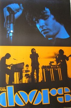 The Doors Jim Morrison American Rock Band Vintage Music Silk Poster Doors Music, The Doors Jim Morrison, Jim Morrison Poster, The Doors Of Perception, Band Posters, Music Posters, American Poets, Best Rock, Film Music Books