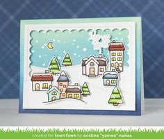 Hi there! I'm here sharing more projects for the September Lawn Fawn inspiration week ! To feature the new Christmas Countdown stamp ...