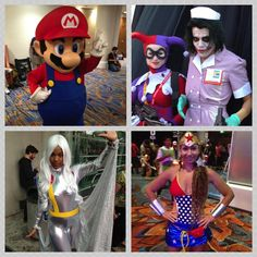 Just a few of the creative costumes seen in and around the Marriott Marquis & Marina during Comic-Con in San Diego.