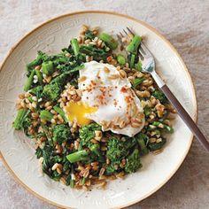 Mmmmm. The Splendid Table - Farro Salad with Broccoli Raab