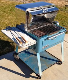 1963 Royal Chef BBQ Grill & Rotisserie