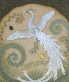 white phoenix by Enoki Toshiyuki