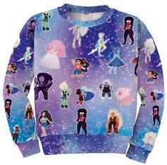 Steven Universe Inspired Sweatshirt Steven Universe by PopComet