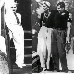 #sewphotohop / / favorite era / / More babes in slacks