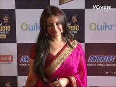 bollywood bhabhi divya dutta spotted at radio mirchi music awards.