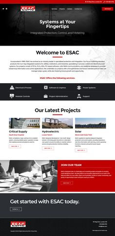 ZOO had the pleasure of working with ESAC to design their new scrolling custom website. Website Layout, Web Layout, Website Ideas, Clean Web Design, App Design, Website Design Inspiration, Fishing Websites, Mobile Ui Patterns, Web Development Agency