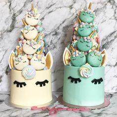 "2,381 Likes, 15 Comments - Enjoué (@enjoue.sg) on Instagram: ""Monday no blues because Unicorns! Up your unicorns game with our new design. Mini unicorn macarons…"""