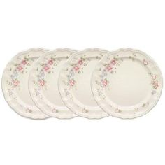 Tea Rose Set of 4 Mugs – Pfaltzgraff Dinner Plate Sets, Dinner Plates, Buy Roses, Kitchen Tools And Gadgets, My Tea, Dinnerware Sets, Serving Plates, Salad Plates, Serveware