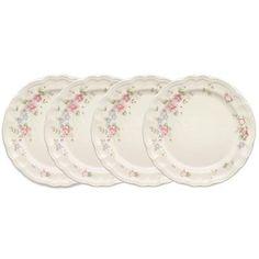 Tea Rose Set of 4 Mugs – Pfaltzgraff Dinner Plate Sets, Dinner Plates, Buy Roses, Kitchen Tools And Gadgets, My Tea, Dinnerware Sets, Serving Plates, Christmas Countdown, Serveware