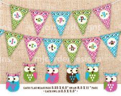 I love the owl theme! @Michele Gain