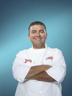 Buddy Valastro - Le boss des gâteaux, Le boss de la cuisine, Le prochain boss des gâteaux Buddy Valastro, Le Chef, Cake Boss, Chef Jackets, Tv Shows, Dessert, Kitchens, Desserts, Deserts