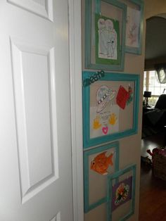 DIY Home  : 	DIY Kids Art Gallery Wall