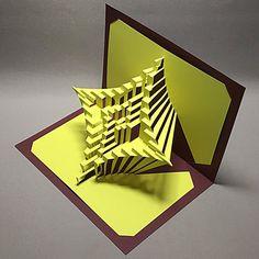 DIY Template  Astroid Spiral kirigami paper