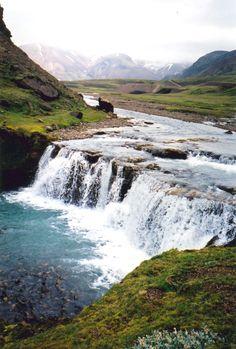 Iceland waterfall by Steven Block