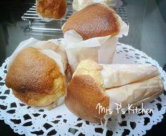 懷舊紙包蛋糕[不用發粉食譜]食譜、作法   Mrs Ps Kitchen的多多開伙食譜分享