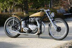 平和モーターサイクル - HEIWA MOTORCYCLE - | T110 LONG PEACE (Triumph)