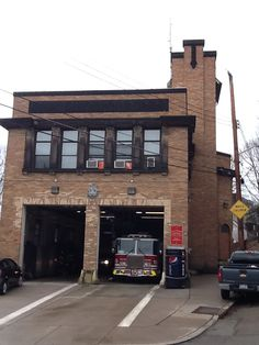Engine 15 Lincoln-Lemington section of Pittsburgh Pittsburgh City, Fire Equipment, Fire Apparatus, Building Facade, Firefighting, Fire Dept, Facades, Fire Trucks, Lincoln