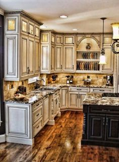 Victorian Style Kitchens Gorgeous Antique White Cabinets Kitchen Rustic Decor
