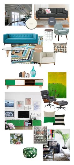 Mid Century Meets The Seventies