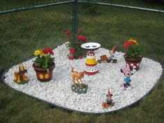 This is our Disney garden.