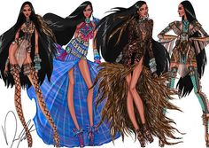 Disney Fashion Frenzy - Pocahontas Set By Daren J