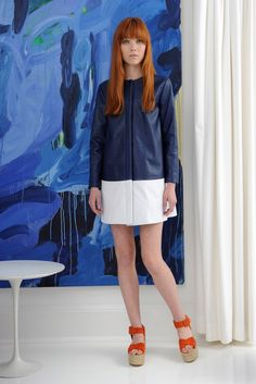 Lisa Perry Resort 2016 - Collection - Gallery - Style.com 70s Fashion, Fashion Show, Fashion Weeks, Casual Formal Dresses, Lisa, 2016 Trends, Fall Trends, Textiles, Effortless Chic
