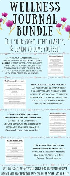 CLICK THE PIN to find out how to be happy, how to be confident, how to love yourself,  how to find peace in daily life... all on your own terms! Get over 120 prompts and activities to help you practice self-care, self-love, mindfulness, and manifestation to create a life you love and create a morning ritual at the same time!