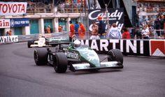 Danny Sullivan approaches the Rascasse, Monaco Grand Prix, Monte Carlo, May 15, 1983