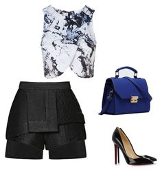 """Untitled #98"" by thabile-zungu on Polyvore featuring Topshop, E L L E R Y, Relaxfeel and Christian Louboutin"