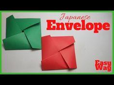 Easy Origami Japanese Envelope For Beginners  DIY Origami Envelope  Handmade Origami - YouTube Origami Envelope, Easy Origami, The Creator, Japanese, Youtube, Diy, Handmade, Hand Made, Origami Easy