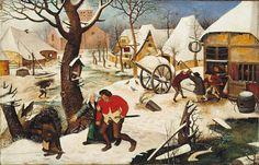 Bruegel, Pieter le Jeune - Retour de l'auberge - Musée des Beaux-Arts, Montréal