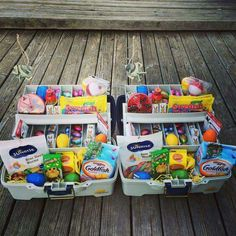 Tackle Box Easter Baskets