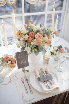 Decoração de Casamentos- Inspire-se com Dicas da Deck7 Festas e Eventos Personalizados www.deck7.com.br