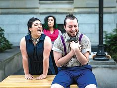 """Free Shakespeare for the masses is a fine idea—but staging his weakest script without solving its obvious problems? Unfortunately, not so much. Bare Theatre's TWO """"GENTLEMEN"""" OF VERONA. The INDY Week review: po.st/btTGr"""