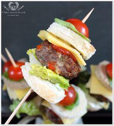 Receita prática de mini-hamburgueres, sanduiches para festas                                                                                                                                                                                 Mais