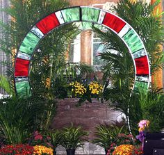Image detail for -Miller - Welding Projects - Idea Gallery - Iron and Stained Glass Arch