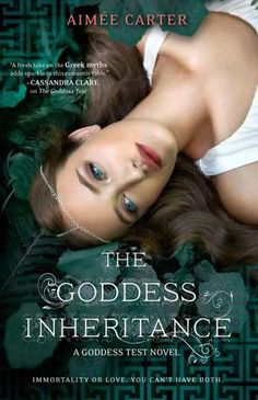 Reading and Writing Urban Fantasy and Paranormal Romance: 3 star ARC Review: The Goddess Inheritance by Aimee Carter
