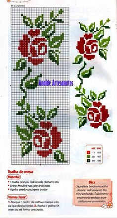 This Pin was discovered by Gül Cross Stitch Bookmarks, Cross Stitch Cards, Cross Stitch Borders, Cross Stitch Rose, Cross Stitch Flowers, Cross Stitch Designs, Cross Stitching, Cross Stitch Embroidery, Embroidery Patterns