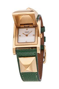 Vintage Pre-Owned Hermès Medor Watch